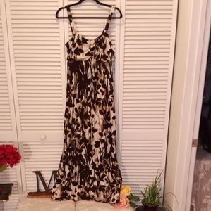 Johnathan Martin maxi dress.